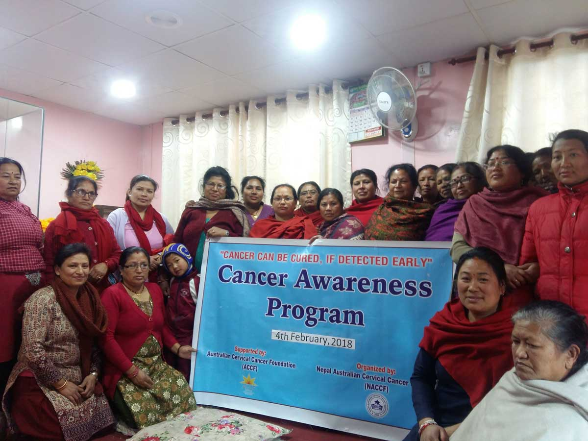 Cervical and Breast Cancer Orientation Program 2018